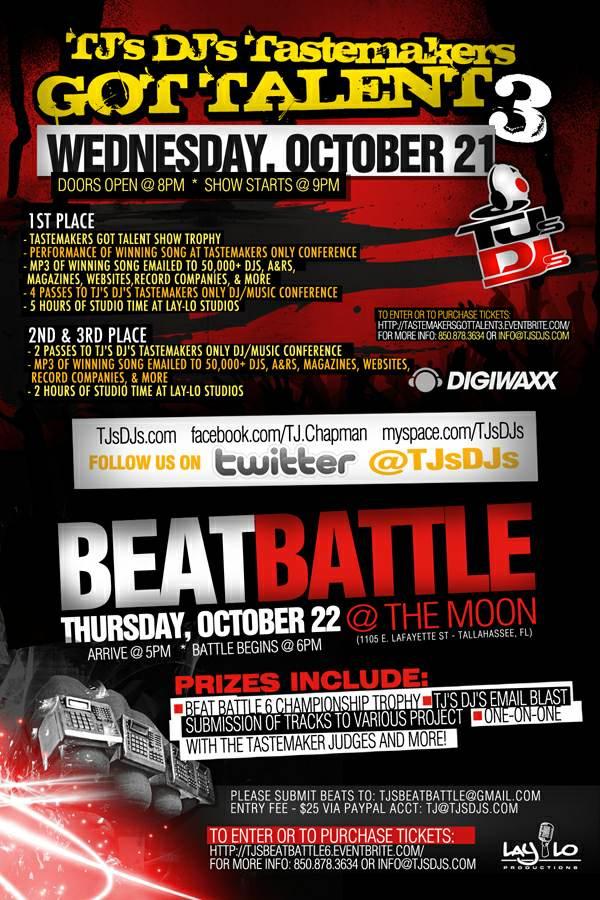 TJ's DJ's Beat Battle