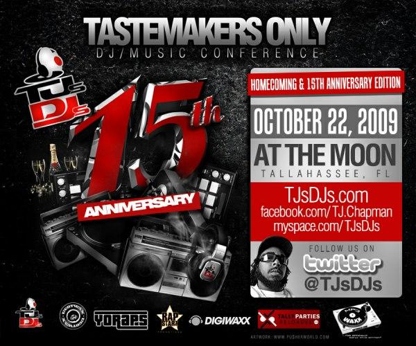 TJ's DJ's 15 Year Anniversary