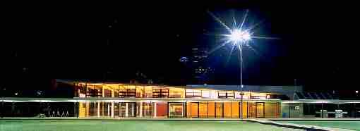 City of melbourne Bowls Club in Flagstaff Gardens
