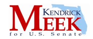 KENDRICK MEEK for U.S. SENATE