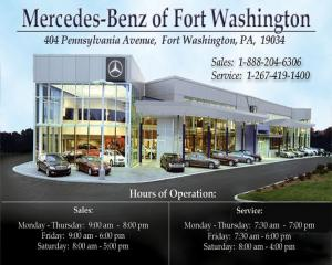 8 19 10 del frisco 39 s steakhouse synergy a charitable for Mercedes benz of fort washington pa