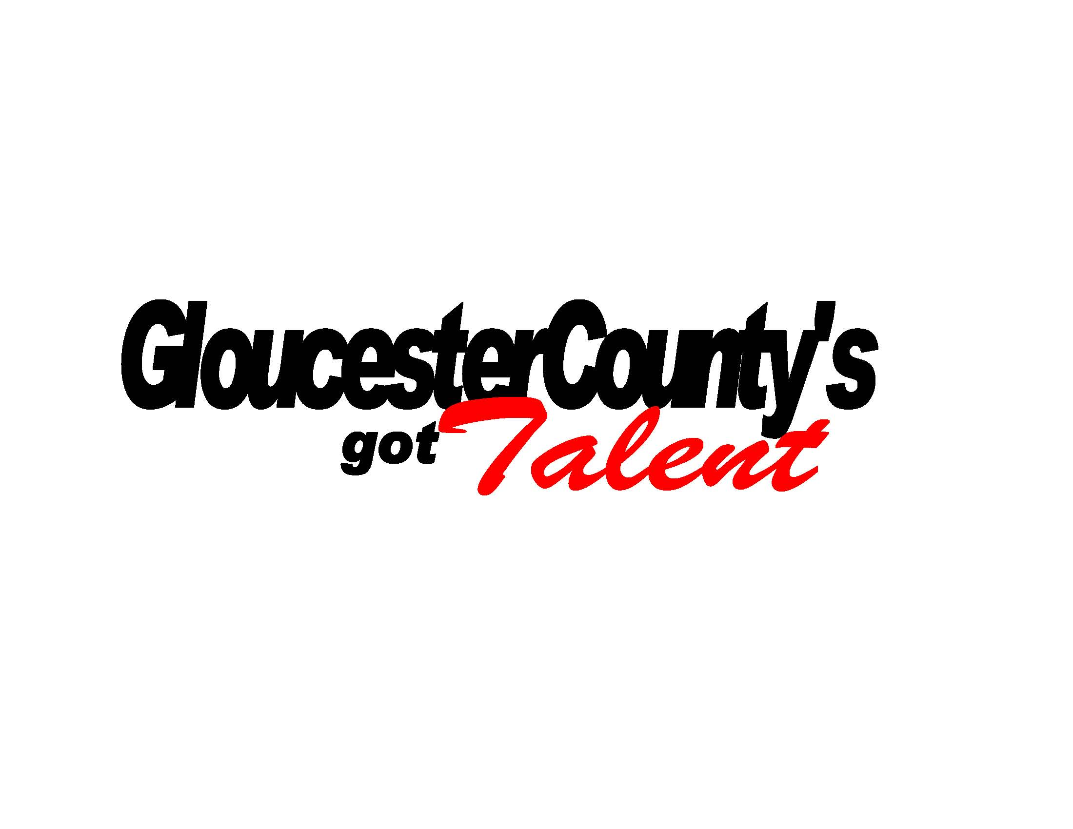 Talent show logo