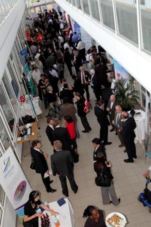 Event where Council leader praises development of city's knowledge economy