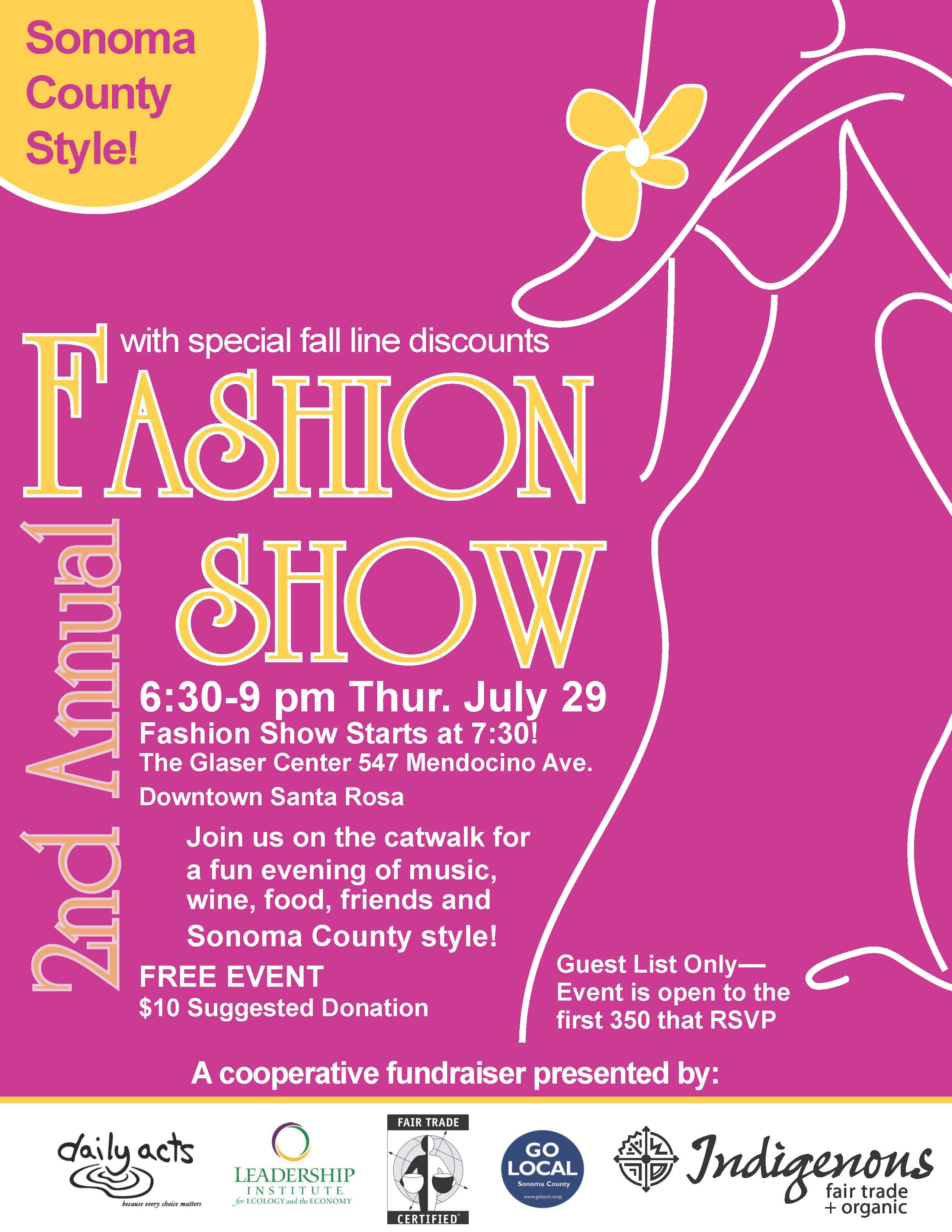 Eco Fashion Show and Fundraiser