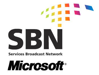 Services Broadcast Network logo