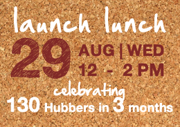 Hub Singapore Launch Lunch