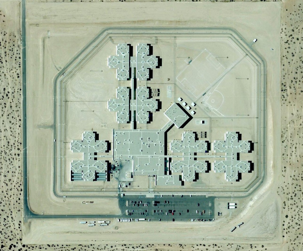 California City prison from the air