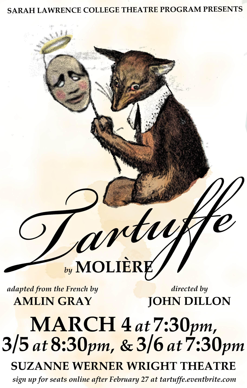 essays on the play tartuffe