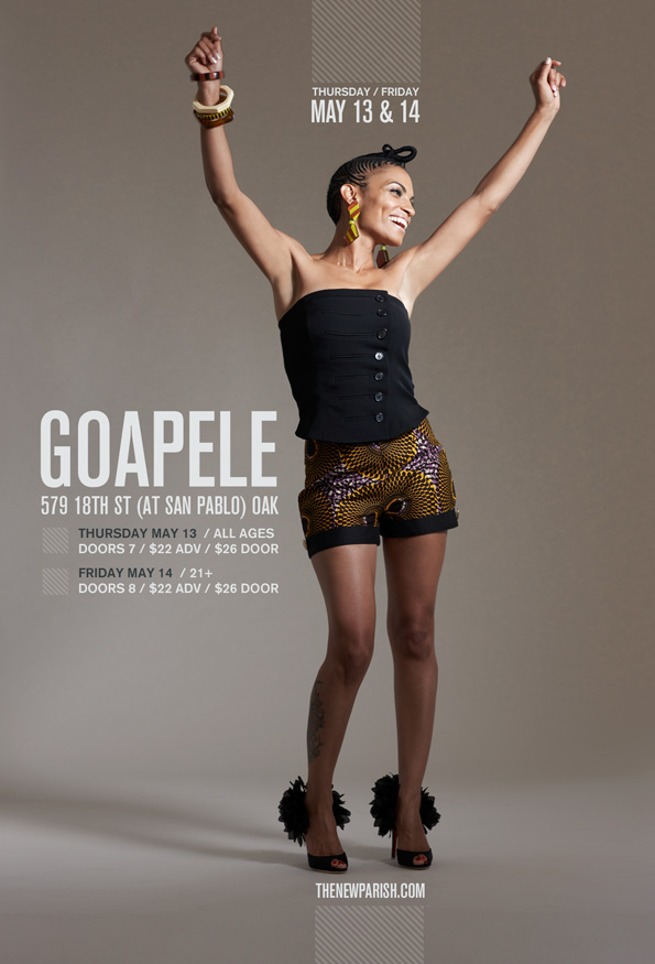 Goapele New Parish Flyer