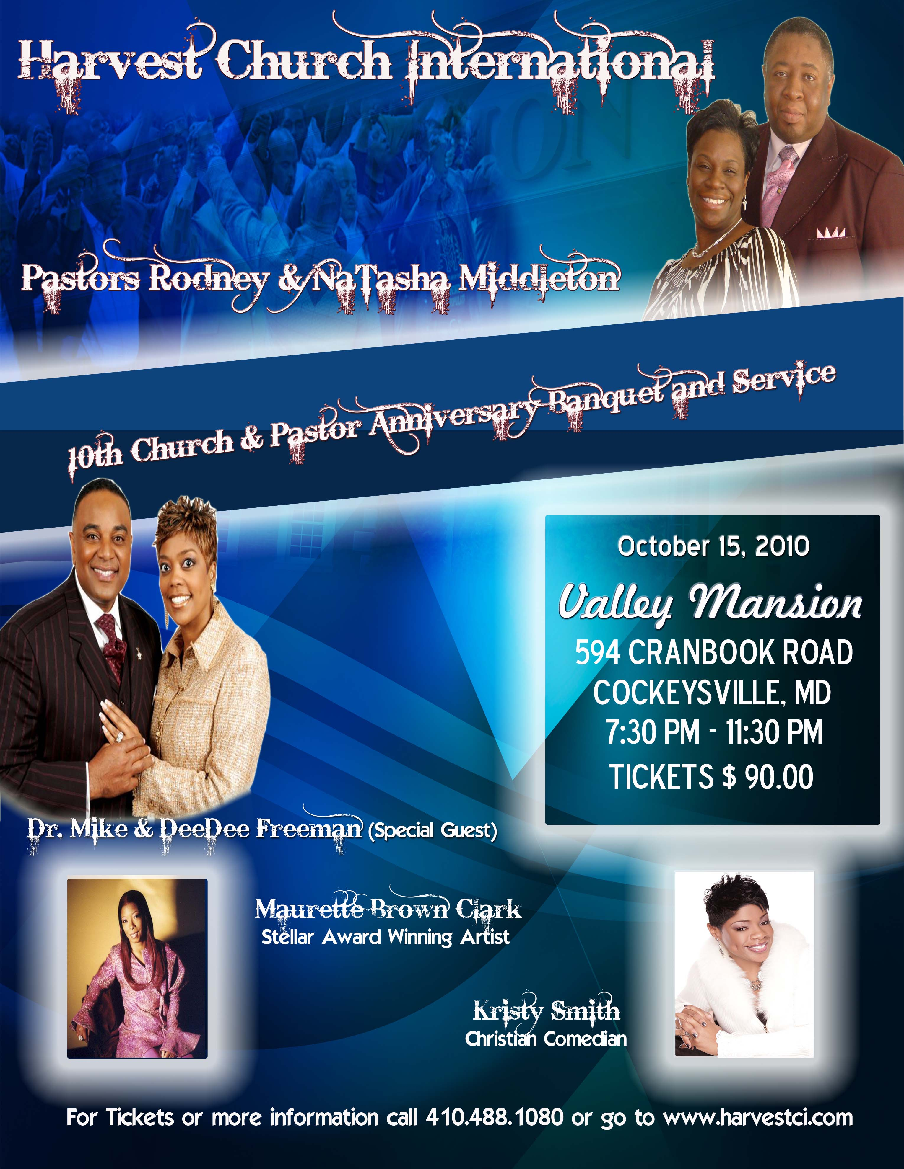 pastor banquet invitation | just b.CAUSE