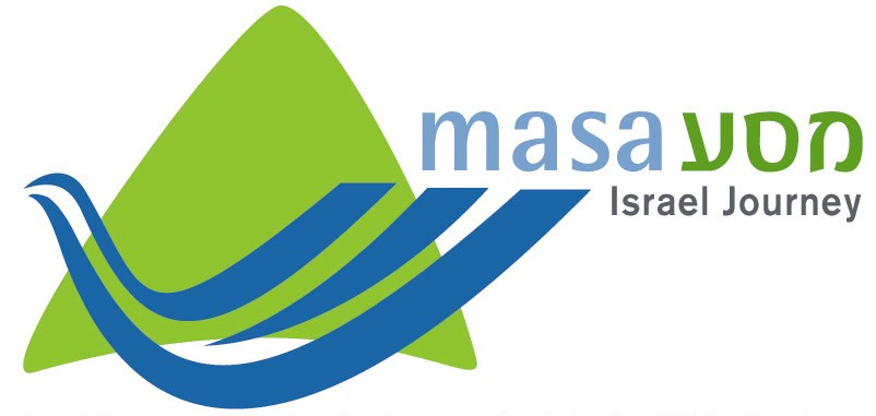 journey logo. Masa Israel Journey Logo