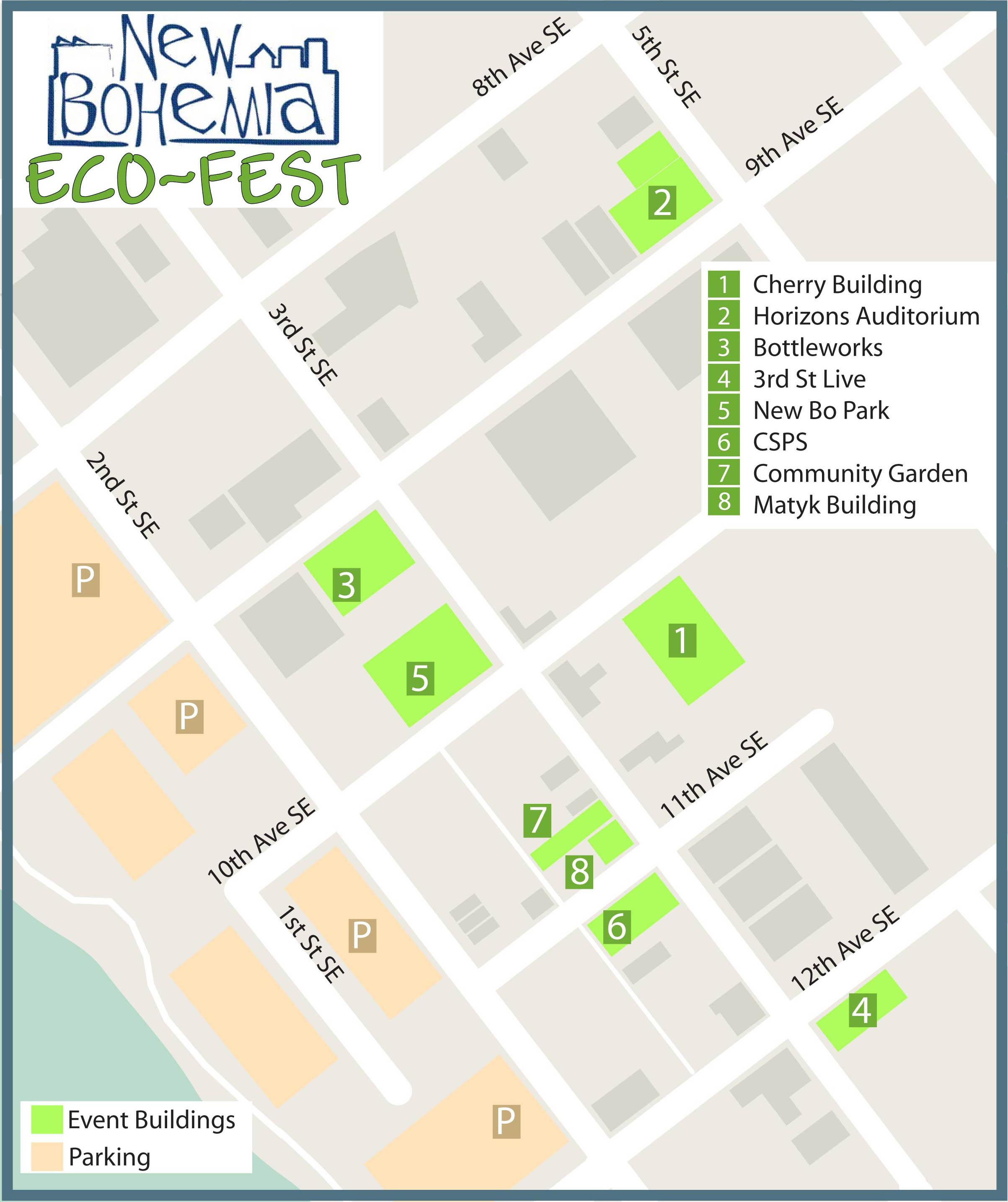 EcoFest Map
