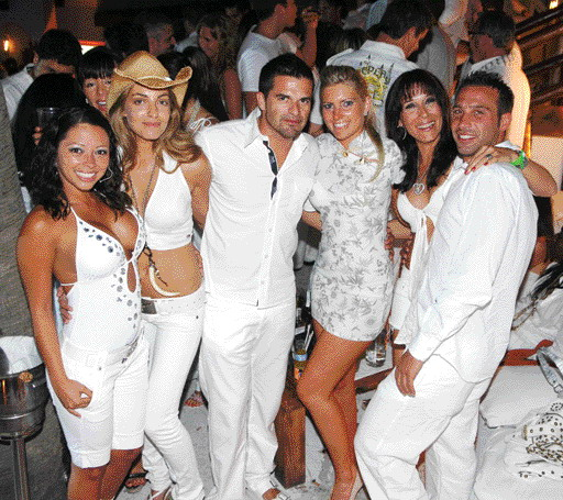 White Party in Villa Крокодила.