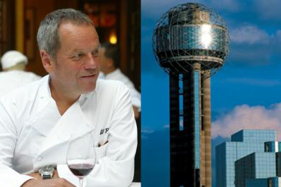 Wolfgang Puck Banquet Hall At Top of Reunion Tower