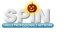 Halloween Singles Dance Party for Baby Boomers Logo
