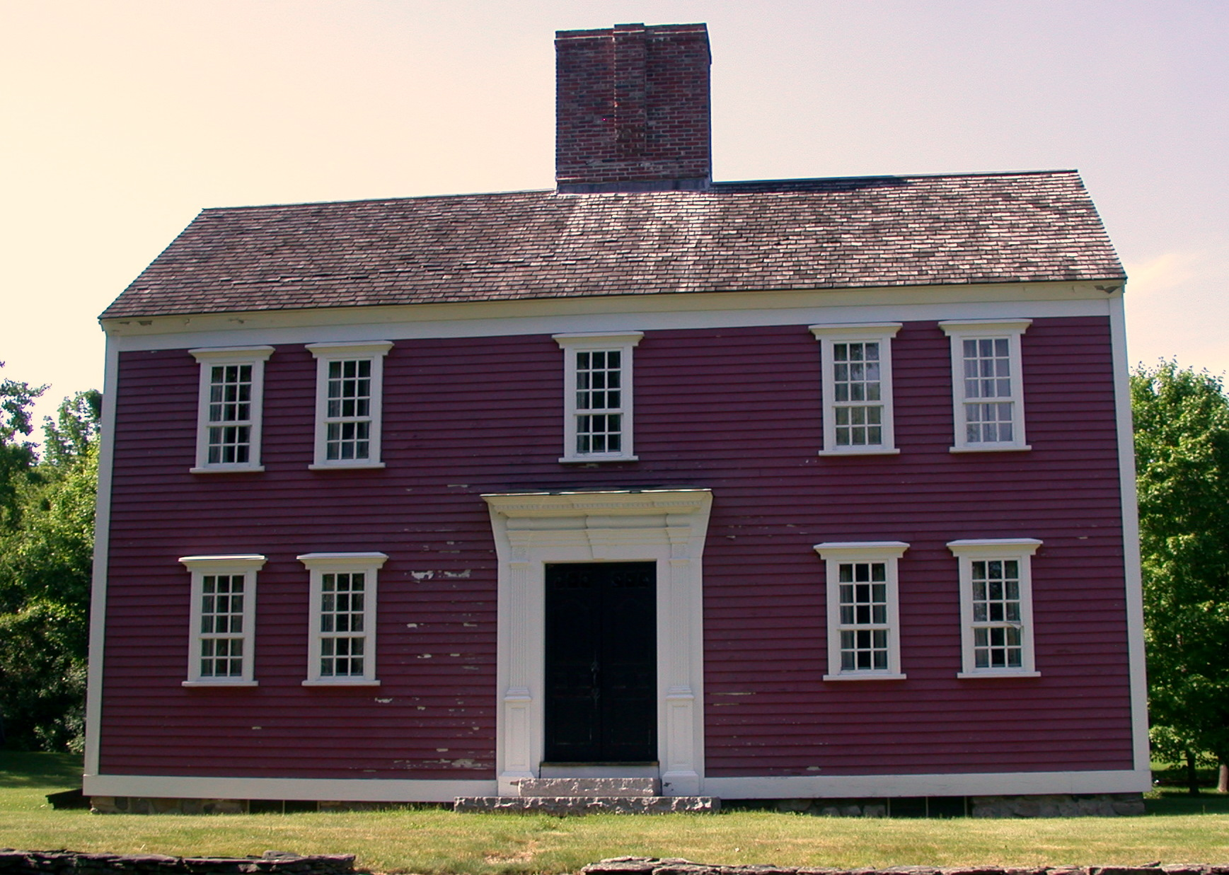 The Deacon Mathias Rice House