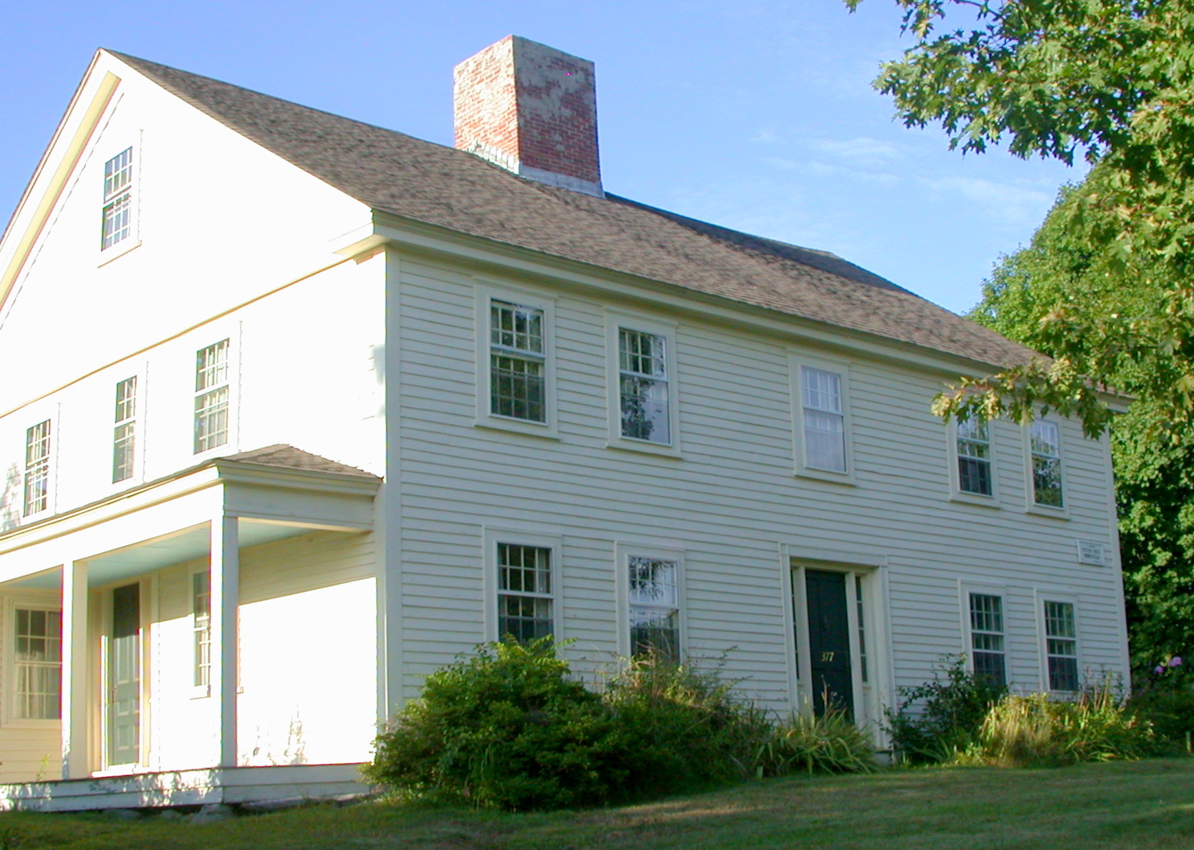 The Peter Rice Homestead (1688)