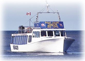 Shediac Bay Boat cruise