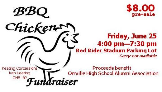 Bbq chicken fundraiser june 25 in orrville oh jun 25 for Bbq tickets template