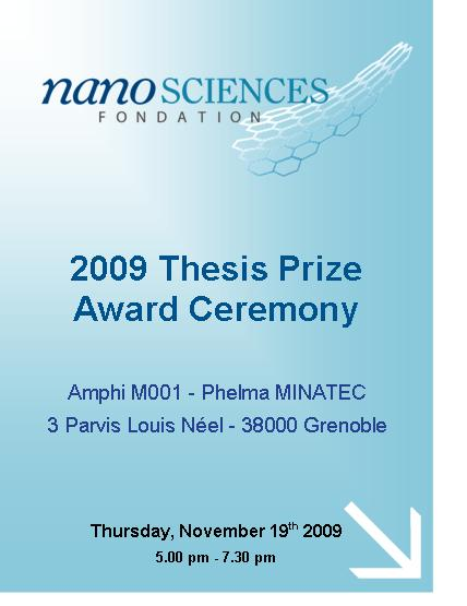 Culham thesis prize