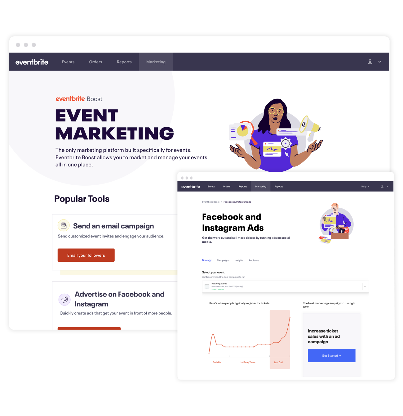 Eventbrite's event marketing software helps you save time and sell more tickets