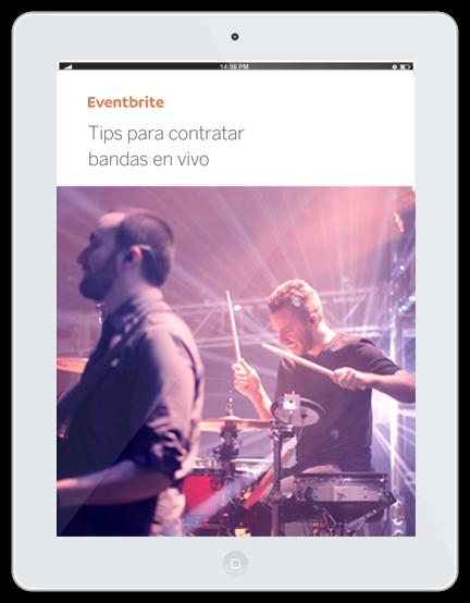 Plantilla descargable: Tips para contratar bandas