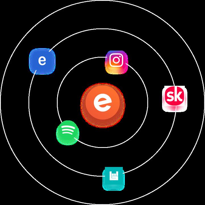 organizer app iphone and tablet screenshot